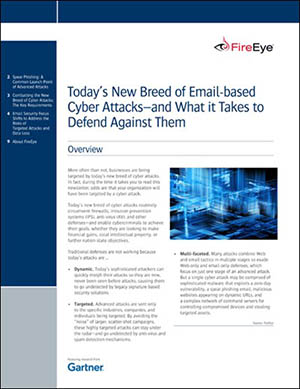 Defend Against a New Breed of Email-Based Cyber Attacks